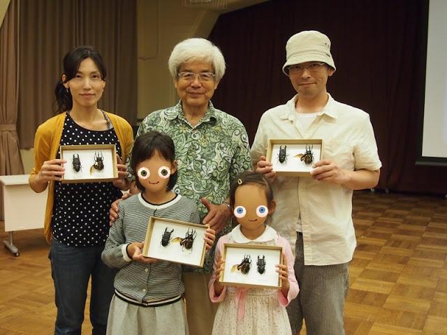 京都マンガミュージアムで養老孟司に標本作りを学ぶ